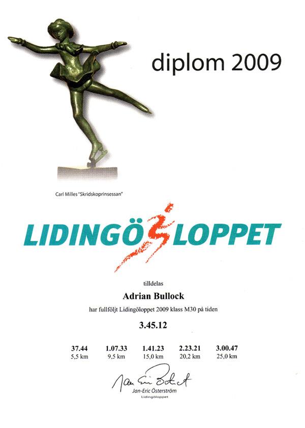 lidingo-certificate-2009
